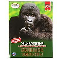 Энциклопедия с развивающими заданиями «Большие обезьяны», фото 1