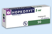 Норколут 5 мг №20 табл