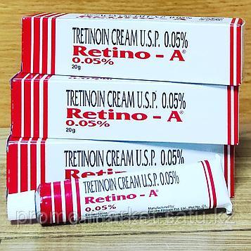 РЕТИН-А Третиноин крем 0,05% (Retino-A Tretinoin Cream 0.05%) - молодость и здоровье кожи, 20 гр