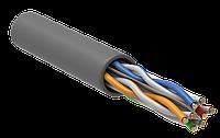 Кабель ITK U/UTP кат.6 4х2х23AWG PVC серый (305м)