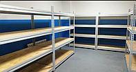 Стеллажи грузовые складские (до 300 кг на полку/до 2100 кг на стеллаж)