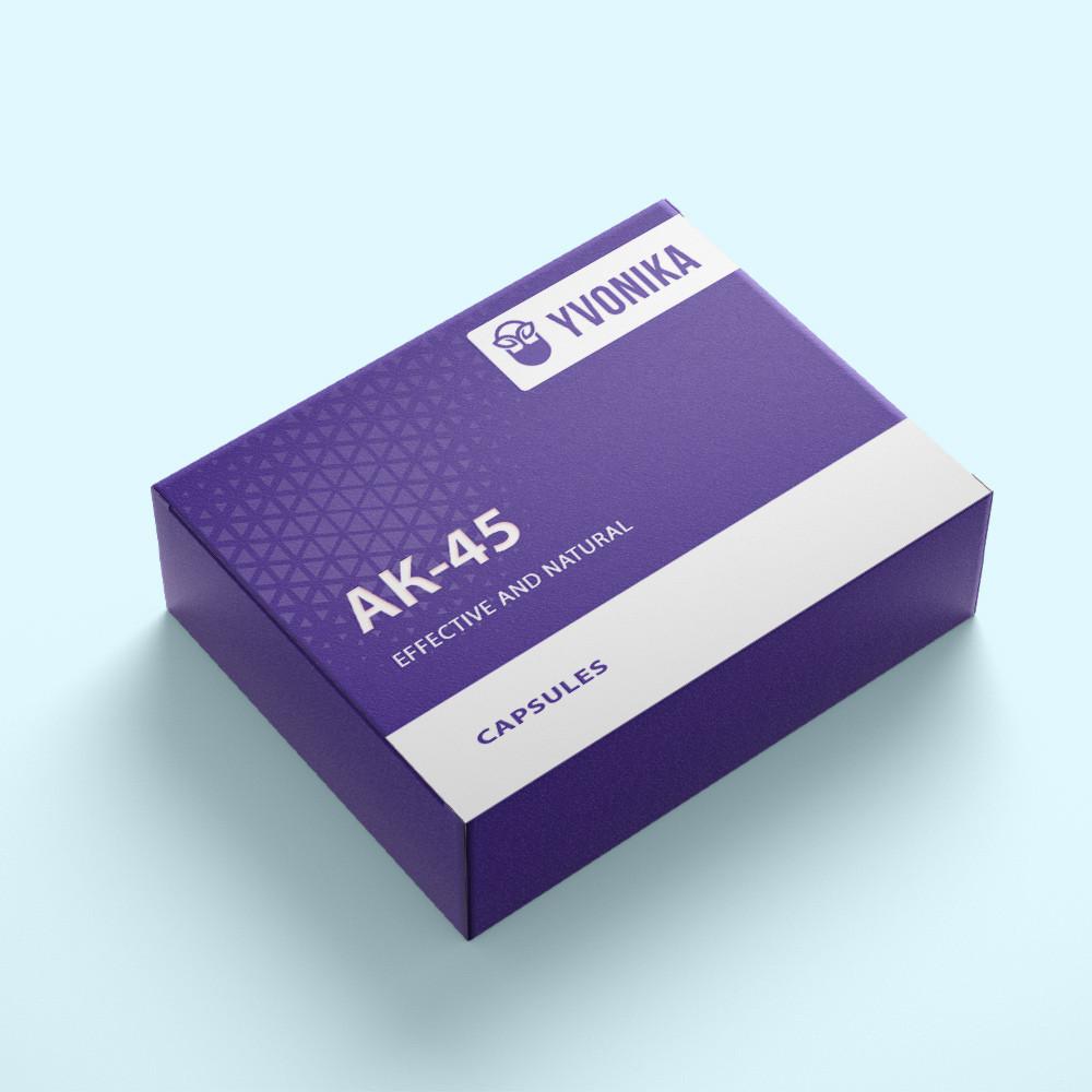 АК-45 - капсулы для восстановления мужской потенции