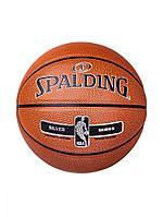 Мяч Spalding NBA Silver размер 5 улица/зал резина