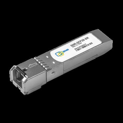 Двухволоконный модуль, CFP4 100GBASE-ER4, разъем LC, дальность до 40км