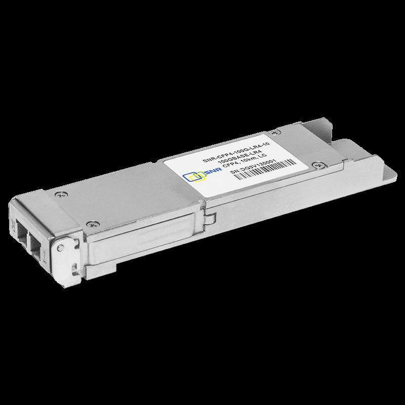 Двухволоконный модуль, CFP4 100GBASE-LR4, разъем LC, дальность до 10км (6dB)