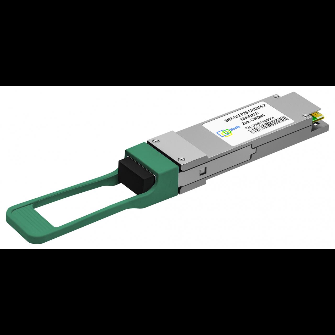 Модуль, QSFP28-DD-CWDM4 200GBASE, разъем CS дальность до 2км