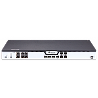 OLT BDCOM GP3600-04-2AC с 4 портами GPON (SFP), 4 комбо-портами, 4хSFP, 4 SFP+, 2 БП АC