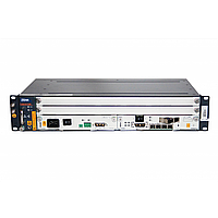 2RU шасси ZTE OLT GPON, 2 слота для установки интерфейсных модулей, 1G, AC