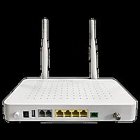 Абонентский терминал ONU BDCOM GPON, 4 порта 10/100/1000Base-T, 2 порта POTS, Wi-Fi, RF