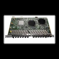 Модульная карта для установки в шасси ZTE ZXA10, 16 портов GPON