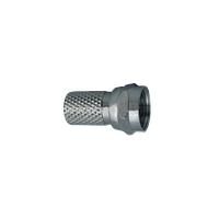 Разъем для коаксиального кабеля RG6 (Twist) (100шт)