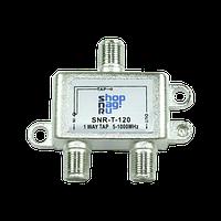 Ответвитель абонентский SNR-T-110 на 1 отвод вносимое затухание IN-TAP 10dB.