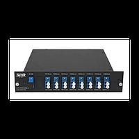 Мультиплексор CWDM одноволоконный 8-канальный (trx:1610-1390, 1470-1310)