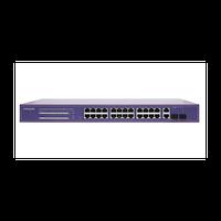 PoE коммутатор Web Smart PWS-CC24-250R, 24x10/100BASE-TX PoE 802.3af&at + 2xGb Combo, 250Вт