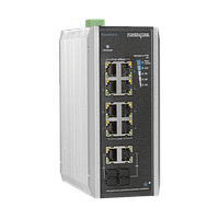 PoE коммутатор неуправляемый PUS-CC08-120i, 8x10/100BASE-TX 802.3af&at + 2хGb Combo, порт №2 до 60Вт,