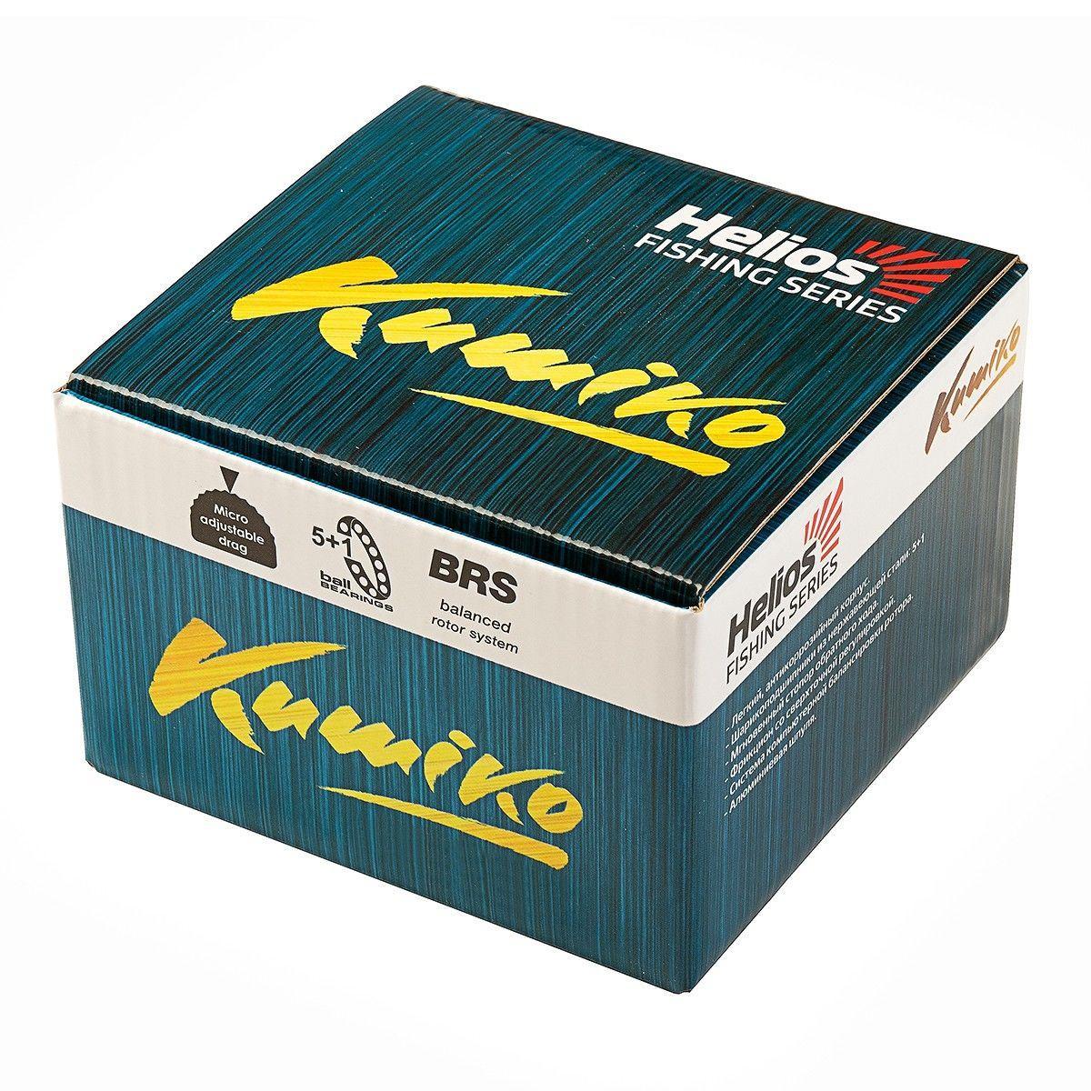 Катушка kumiko 4000f 5+1 подшип helios (hs-k4000f) tr-248811 - фото 2