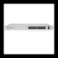Коммутатор Ubiquiti UniFi Switch PoE 24 порта 250W