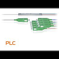 Делитель оптический планарный PLC-M-1x8, бескорпусный, разъемы SC/APC