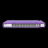 PoE коммутатор стоечный неуправляемый PUS-CC32-450R, 32x10/100BASE-TX 802.3af&at + 2xGb Combo (SFP порт только
