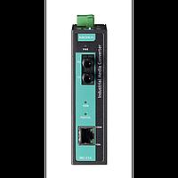 IMC-21A-M-ST Медиаконвертер Ethernet 10/100BaseTX в 100BaseFX (многомодовое оптоволокно) в металлическом