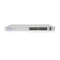 Коммутатор Ubiquiti UniFi Switch PoE 24 порта 500W