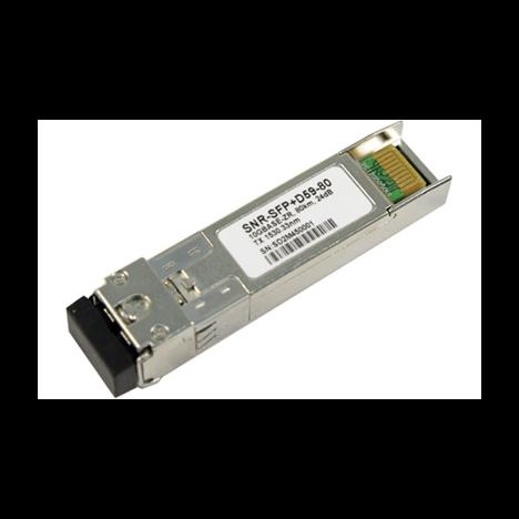 Модуль SFP+ DWDM оптический, дальность до 80км (24dB), 1528.77нм