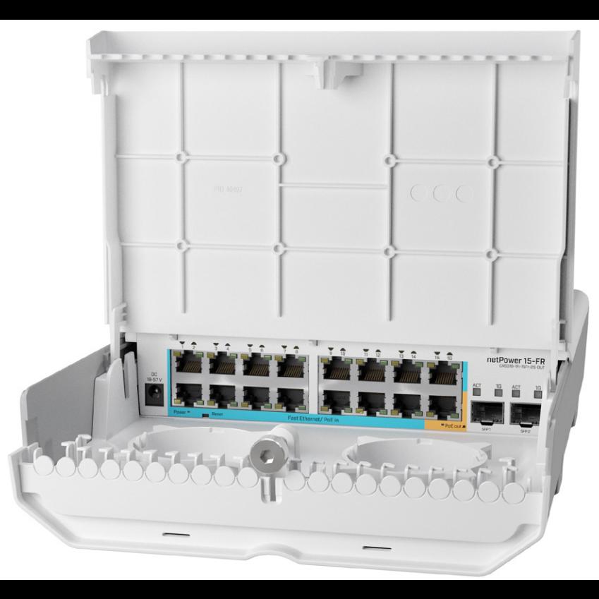 Коммутатор Cloud Router Switch Mikrotik CRS318-1Fi-15Fr-2S-OUT