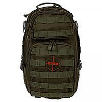 Рюкзак тактический RU 070 ткань Оксфорд 30 л HUNTSMAN малахит НФ-0009116530