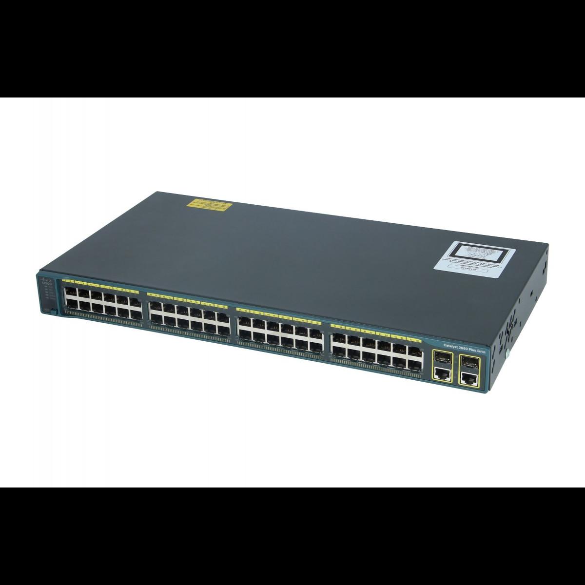Коммутатор Cisco Catalyst WS-C2960+48PST-L