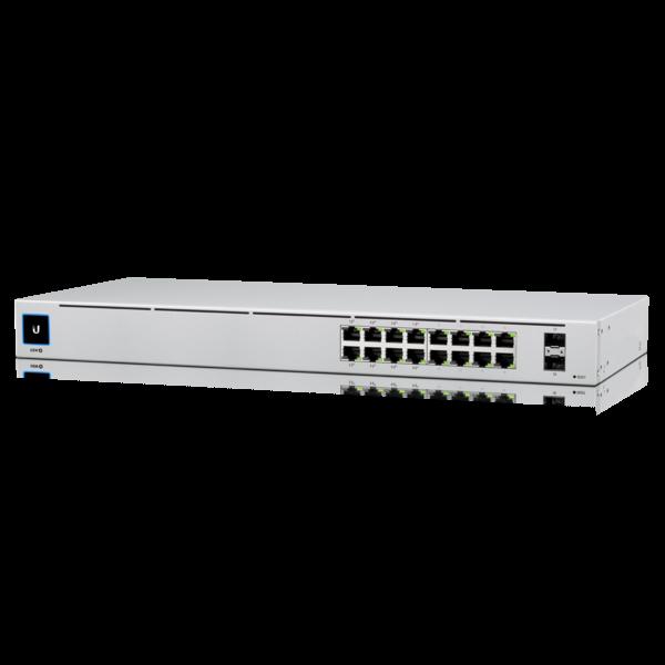 Коммутатор Ubiquiti UniFi Switch 16 PoE