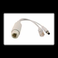 1-портовый сплиттер PS-154-1 PoE 802.3af 10/100Mbps, 12В/1А