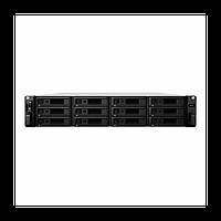 "NAS-сервер Synology RackStation RS2418RP+, 12xHDD 3,5"", 4х1000Base-T, Два БП, без дисков"