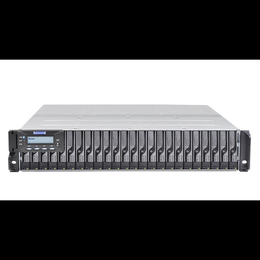 Система хранения данных Infortrend DS3024RUB-C Gen2 (2xCtrl, до 24xHDD, 2xSAS12G внеш. порт, 2x4GB, 8x1G