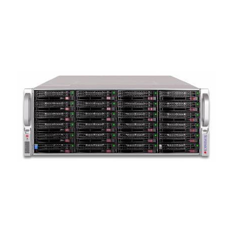 Сервер Supermicro 846E16-R1200B(X8DTE-F), 2 процессора Intel 6C E5645 2.40GHz, 48GB DRAM