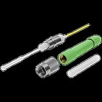 """Разъем оптический Ilsintech """"Splice-On Connector"""" FC/APC для кабеля 3,0 мм / 2,0 х 3,1"""