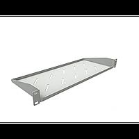 Полка консольная для шкафов глубиной 400мм, (глубина полки 200мм) распределенная нагрузка 20кг, цвет-серый