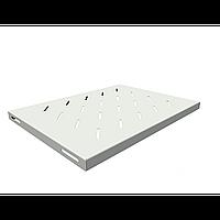 Полка стационарная для шкафов глубиной 600мм, (глубина полки 350мм) распределенная нагрузка 20кг, цвет-серый