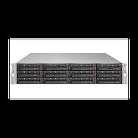"Платформа Supermicro 2U SSG-6028R-E1CR12T, Два процессора E5-2600v3/v4, DDR4, 12x3.5"" SAS/SATA HDD,"