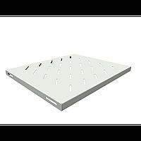 Полка стационарная для шкафов глубиной 600мм, (глубина полки 400мм) распределенная нагрузка 20кг, цвет-серый