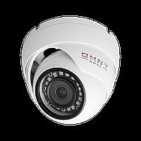 IP камера OMNY BASE miniDome2E v2 миникупольная 2Мп (1920×1080) 25к/с, 2.8мм, F1.8, 802.3af A/B, 12±1В DC, ИК