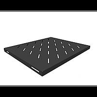 Полка стационарная для шкафов глубиной 600мм, (глубина полки 400мм) распределенная нагрузка 20кг, цвет-черный