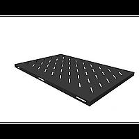Полка стационарная для шкафов глубиной 1000мм, (глубина полки 710мм) распределенная нагрузка 20кг, цвет-черный