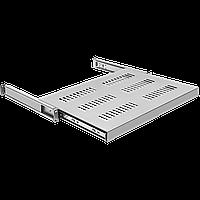 Полка выдвижная для шкафов глубиной от 800 до 1000мм (глубина полки 550мм), распределенная нагрузка 20кг,