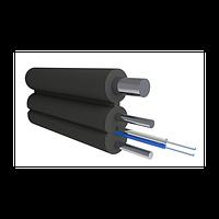 Кабель оптический Alpha Mile FTTx, с дополнительным несущим элементом (проволока 1.0 мм), 2 волокна