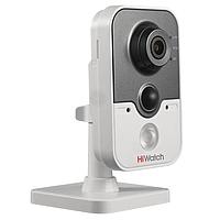 Офисная IP-камера DS-N241, 1Мп, 4мм, 12V/PoE, ИК подсветка до 10м, встроенный динамик и микрофон, с