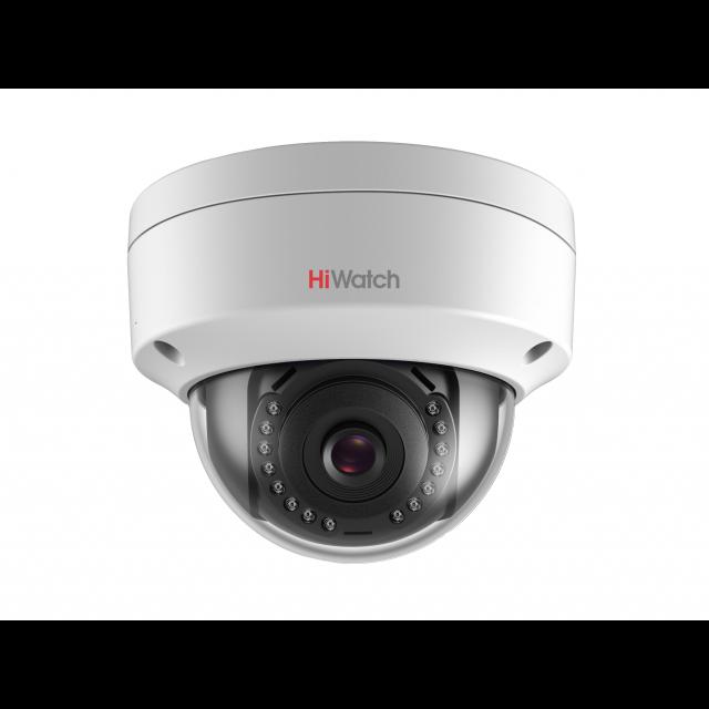 Уличная купольная IP-камера DS-I402(B) (2.8mm), 4Мп, фикс. объектив 2.8мм, EXIR-подсветка до 30м, DWDR,