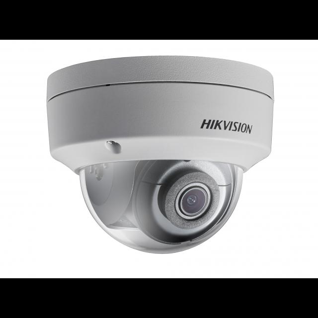 Уличная купольная IP-камера DS-2CD2123G0-IS (4mm), 2Мп, 4мм, 12V/PoE, ИК-подсветка до 30м, microSD до 128Гб,