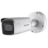 Уличная цилиндрическая IP-камера DS-2CD2643G0-IZS, 4Мп, мотор. объектив 2.8-12мм, 12V/PoE, ИК-подсветка до