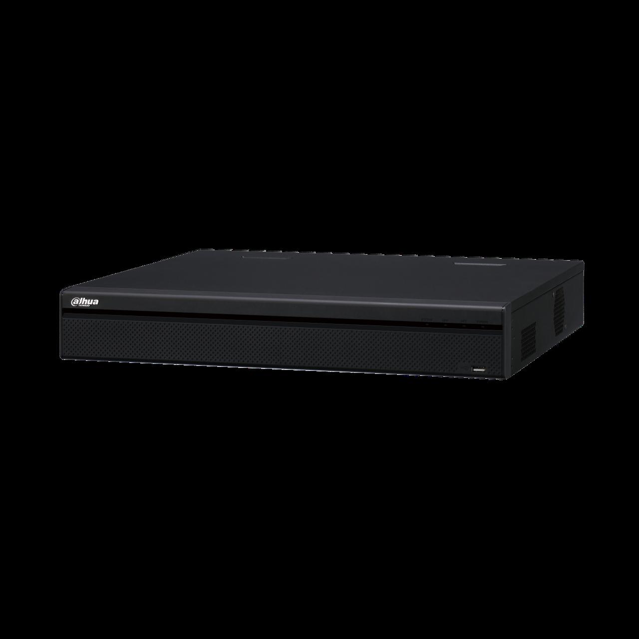 IP Видеорегистратор Dahua DHI-NVR5416-16P-4KS2E 16-и канальный 4K, 16 PoE портов, до 12Мп, 2 HDD до 10Тб,