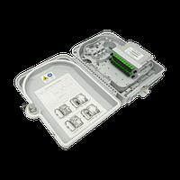 Коробка распределительная оптическая SNR-FTTH-FDB-24A (укомплектованная 2 делителями 1х8)